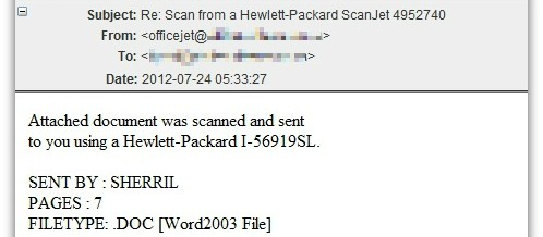 Your HP Scanner Just Sent You Malware?