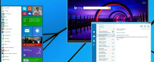 Windows 9 Rumors–Charms Bar Out, Start Menu Returns