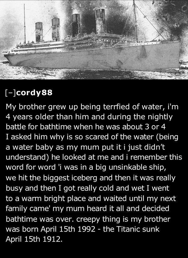 Sunday Creepy The Titanic Wyzguys Cybersecurity