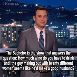 .Why I don't watch the Bachelor.