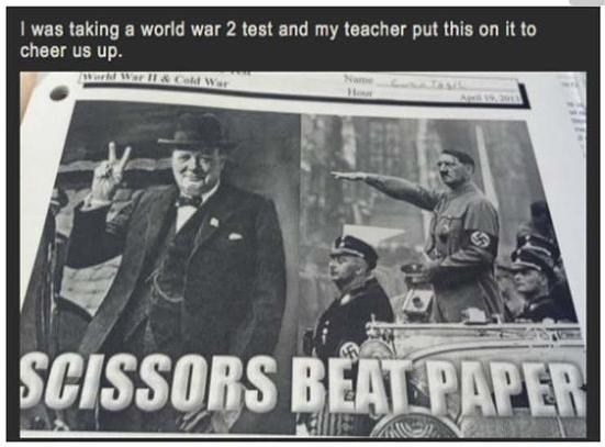 Scissors-beats-paper