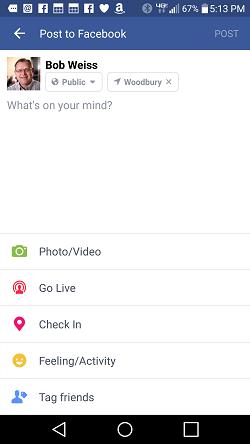Facebook-GoLive