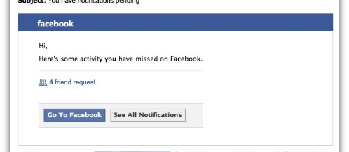 Fake Facebook Emails Send You to Viagraville