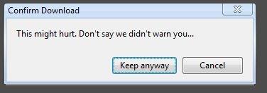 Whimsical Chrome Error Message