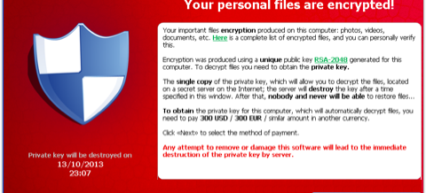 CryptoLocker–New Ransomware Encrypts Your Files