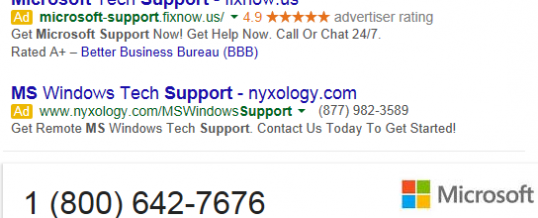 Watch Out For Fake Tech Support Calls and Web Sites