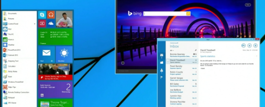 Windows 8.1–Return of the Start Menu